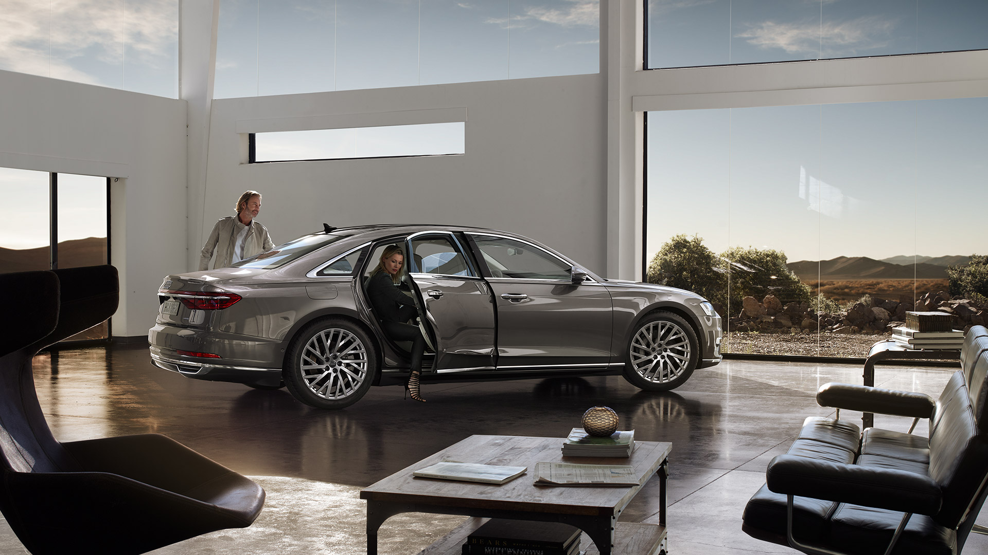 Nuova Audi A8: Welcome to the Future